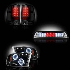 2014 ram 1500 tail lights dodge ram 1500 2009 2012 2500 3500 2010 13 recon smoked headlights