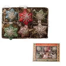 christmas heirloom glass star ornaments set tutti decor ltd