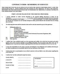 service contract form lawn service contract form pdf download