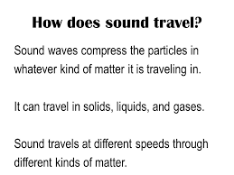 how do sound waves travel images Chapter 14 sound and light energy ppt video online download jpg
