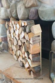 logs for fireplace binhminh decoration