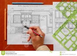 interior design drawings royalty free stock image image 3371756