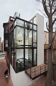 Modern Row Houses - modern day washington d c row residence kitchen design ideas 2015