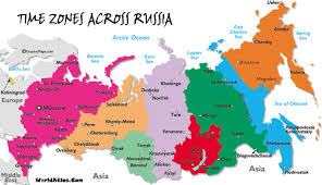 european russia map cities russia time zones mapp