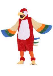 Halloween Costumes Parrots Parrot Mascot Costume
