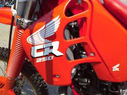 honda cr250 1988 vintage restoration