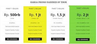 distributor resmi hammer of thor asli di jakarta barat