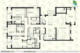 luxury apartment plans luxury 4 bedroom apartment floor plans in trend stunning