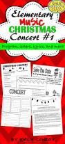 christmas concert program template best 25 elementary christmas concert ideas on pinterest