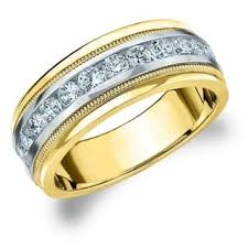 two tone wedding rings two tone wedding rings for less overstock