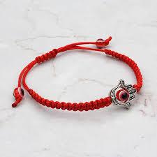 red chain bracelet images Evil eye red bracelet for woman braided red chain bracelet women jpg