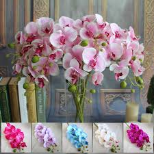 silk flowers wholesale wholesale 78cm artificial silk butterfly orchids home wedding