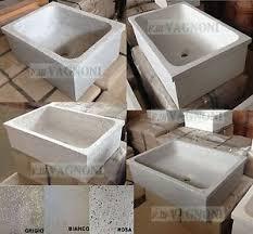 lavelli in graniglia per cucina lavandino lavello acquaio pilozzo in graniglia di marmo cemento
