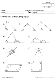 primaryleap co uk angles 4 worksheet