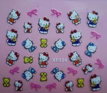 popular 3d hello kitty nail art buy cheap 3d hello kitty nail art