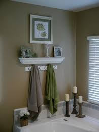 Bathroom Shelf Idea by Mini Coat Hook To Hold Up Towels Great For Sharing A Bathroom