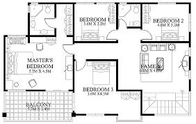 modern homes floor plans modern house design 2012002 eplans