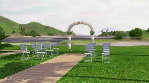 wedding arches in sims 3 petition move the island wedding arch to miscellaneous decor