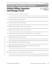 teaching transparency worksheet answers the best and most