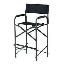 Tall Directors Chair With Side Table Tall Folding Directors Chair With Side Table Home Design Ideas