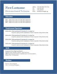 resume templates word 2013 resume badak