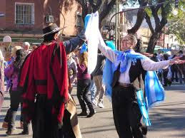 Dancing Flags Gaucho Dancing And Flag Day In Argentina