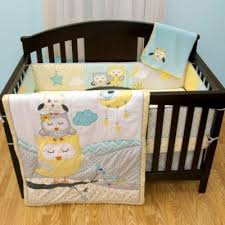Boy Owl Crib Bedding Sets Crib Fashion Bedding Baby S By Nemcor Naptime Owls 5