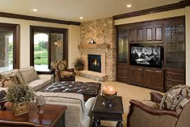 Lower Level Family Room Traditional Family Room Minneapolis - Traditional family room