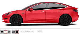 play with tesla model 3 colors u0026 rims cleantechnica