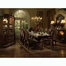 michael amini cortina beautiful cherry formal dining table louis