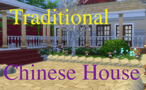 the sims 4 speed build traditional chinese house part 2 the