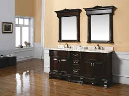 bathroom cabinets bathroom storage cabinet black wooden on the