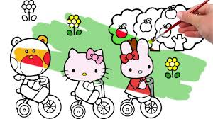 6 brilliant kitty coloring pages kids ngbasic