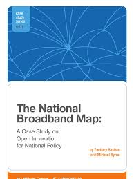 National Broadband Map The National Broadband Map A Case Study On Open Innovation For