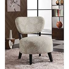 amazon com coaster accent chair with light floral pattern in dark