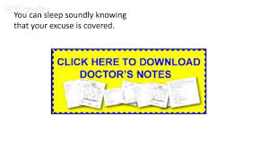 free doctor notes free doctors excuse template doctor u0027s note