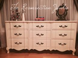 French Provincial Furniture by Andrew Malcolm French Provincial Serpentine 9 Drawer Dresser