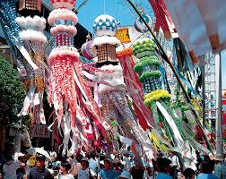 tanabata festival in sendai city miyagi pref seasonable