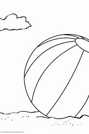 ballon de plage 25 objets u2013 coloriages à imprimer