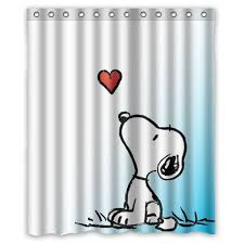 Peanuts Shower Curtain 8 Best Snoopy Images On Pinterest Snoopy Bathroom Shower