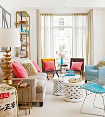 Inspiring Colorful Living Room Ideas Design  Wall Colour - Bright colors living room