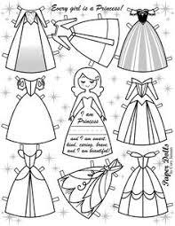 cute free paper doll templates print color u0027ll