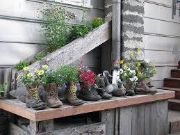 Cowboy Boot Planter by Sensational Shoe Planters The Micro Gardener