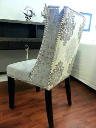 home goods dining room chairs dining chairs luxurious style from cynthia rowley upholstered