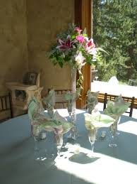 another view of center pieces and company