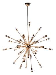 Sputnik Chandelier Sputnik Gold Chandelier Modern Furniture Brickell Collection