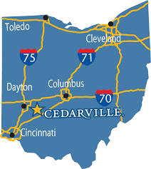 Dayton Ohio Map by Frequently Asked Questions Cedarville University