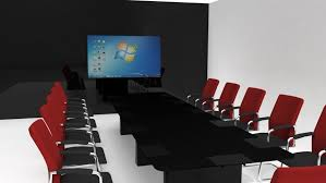 White Gloss Meeting Table Breathtaking Black Conference Table Rectangle Shape Black Wood