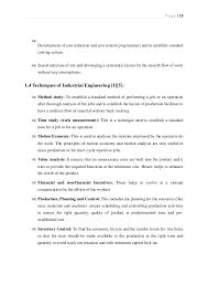 application of industrial engineering in garments sewing floor