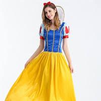 Snow White Halloween Costume Women Cheap Cosplay Snow White Woman Free Shipping Cosplay Snow White